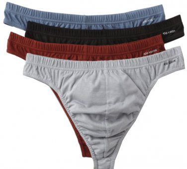 Thongs men Joe Boxer 4 pack size S