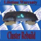 94 95 IMPALA CAPRICE SPEEDOMETER INSTRUMENT CLUSTER REPAIR SERVICE READ LISTING