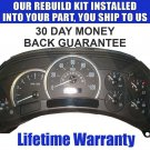 2005 CADILLAC ESCALADE INSTRUMENT CLUSTER REPAIR SERVICE READ LISTING