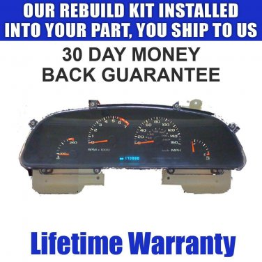 95 IMPALA INSTRUMENT CLUSTER SPEEDOMETER REPAIR SERVICE READ LISTING