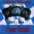 03 04 05 06 SSR CLUSTER REPAIR SERVICE READ LISTING NEW STEPPERS & BULBS