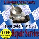 2000 00 01 2001 VW Golf 2.8L JETTA THROTTLE BODY REPAIR SERVICE READ LISTING