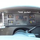 94 95 96 Chevy Impala Caprice Instrument Cluster Digital Display Repair Service