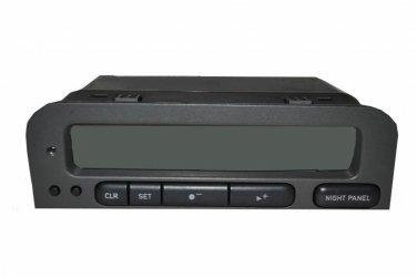 99 00 01 02 03 SAAB 93 SID 1 or 2 Info Center Clock Reman New LCD $50 Cash Back