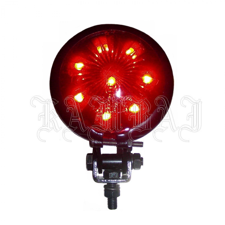 Motorcycle Taillight LED Brake Light Rear Light Bobber Chopper Bates Universal