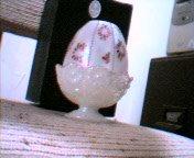 Fenton Limited Edition Egg Fairy Light 8405YZ...Mint