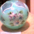 Fenton Victorian Roses Vase, Lt. Edition 1993 Mint in b