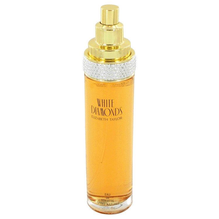 TESTER 3.4 oz EDT White Diamonds by Elizabeth Taylor Perfume for Women