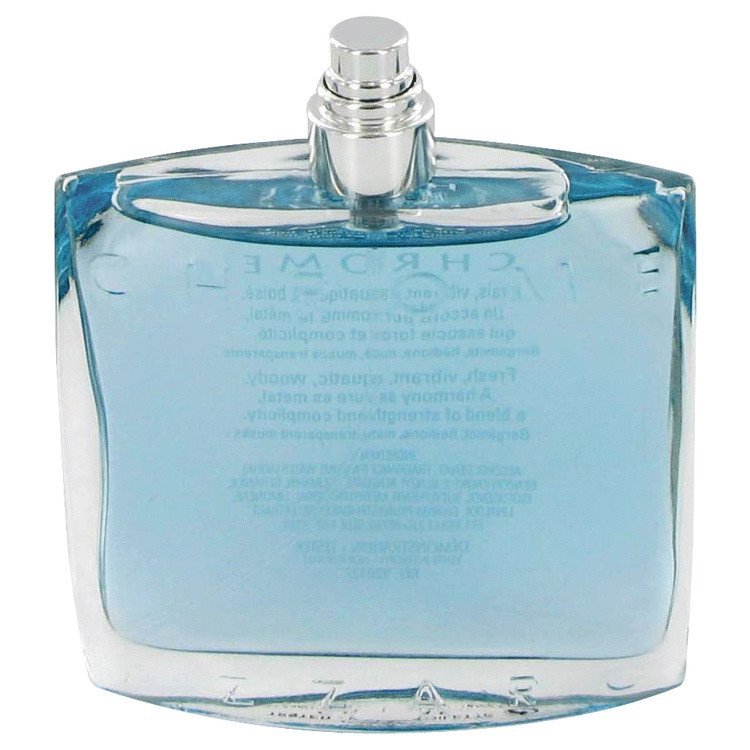 TESTER 3.4 oz EDT Chrome Cologne By Loris Azzaro for Men
