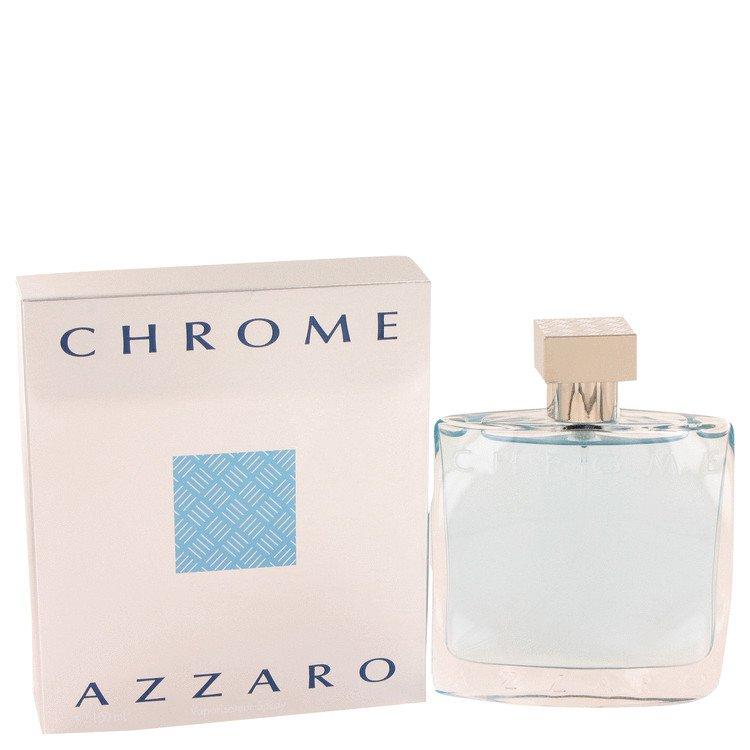3.4 oz EDT Chrome Cologne By Loris Azzaro for Men