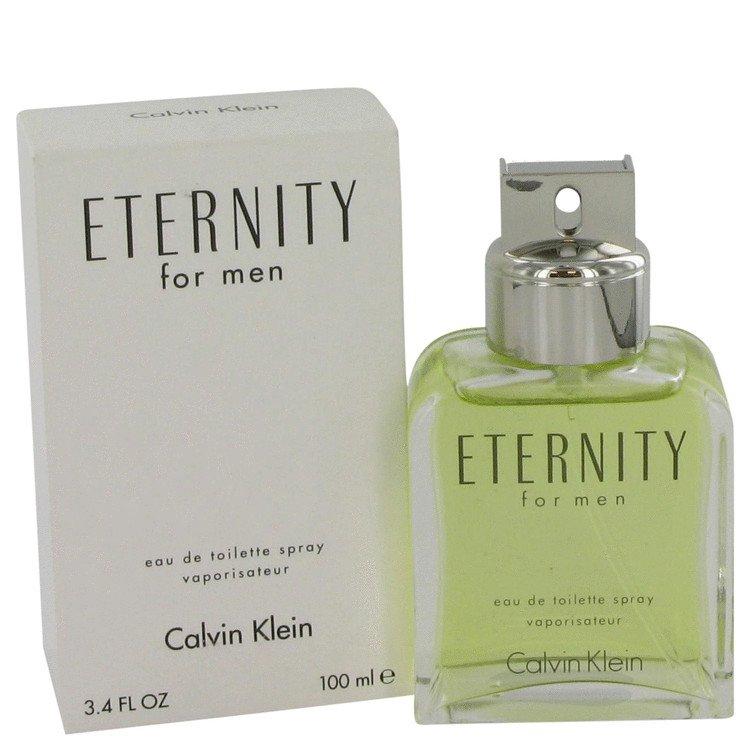 TESTER 3.4 oz EDT Eternity Cologne by Calvin Klein for Men
