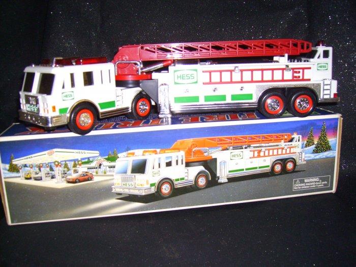 2000 Hess Fire Truck