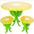 Daisy Teacup Table