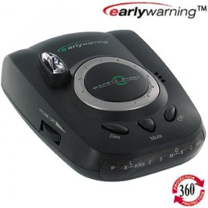 EARLY WARNING EW-3005 SAFETY RADAR LASER DETECTOR SAFETYRADARLASER DETECTORS NEW