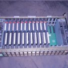 ALLEN BRADLEY 16 SLOT I/O CHASSIS PLC 1771-A4B-B WITH CARDS
