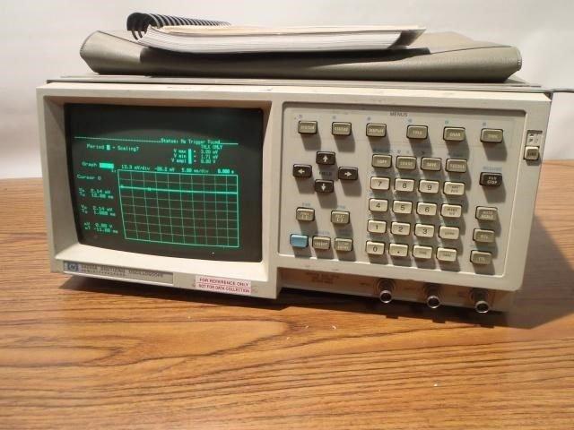Hp Agilent  54200A 2 Channel Digitizing Oscilloscope 200MSa/s - 499MSa/s, Digita
