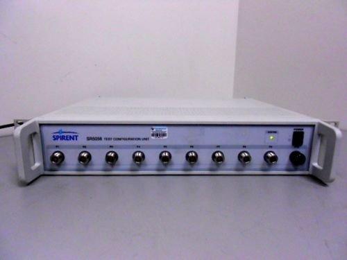 Spirent SR5058 CDMA PLTS Test Configuration Unit