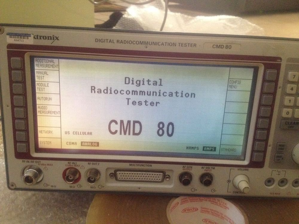 Rohde & Schwarz CMD80 Digital Radiocommunication Tester lots of opts