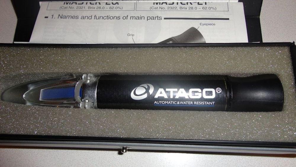 ATAGO Master-20alpha  28-62% ATC Brix Refractometer