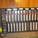 Allen-Bradley  1771AD Mini PLC-2/15 16 I/O Modules.