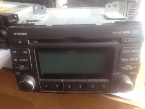 2008-2010 Hyundai Sonata AM FM CD Radio Player OEM  A-200NFU