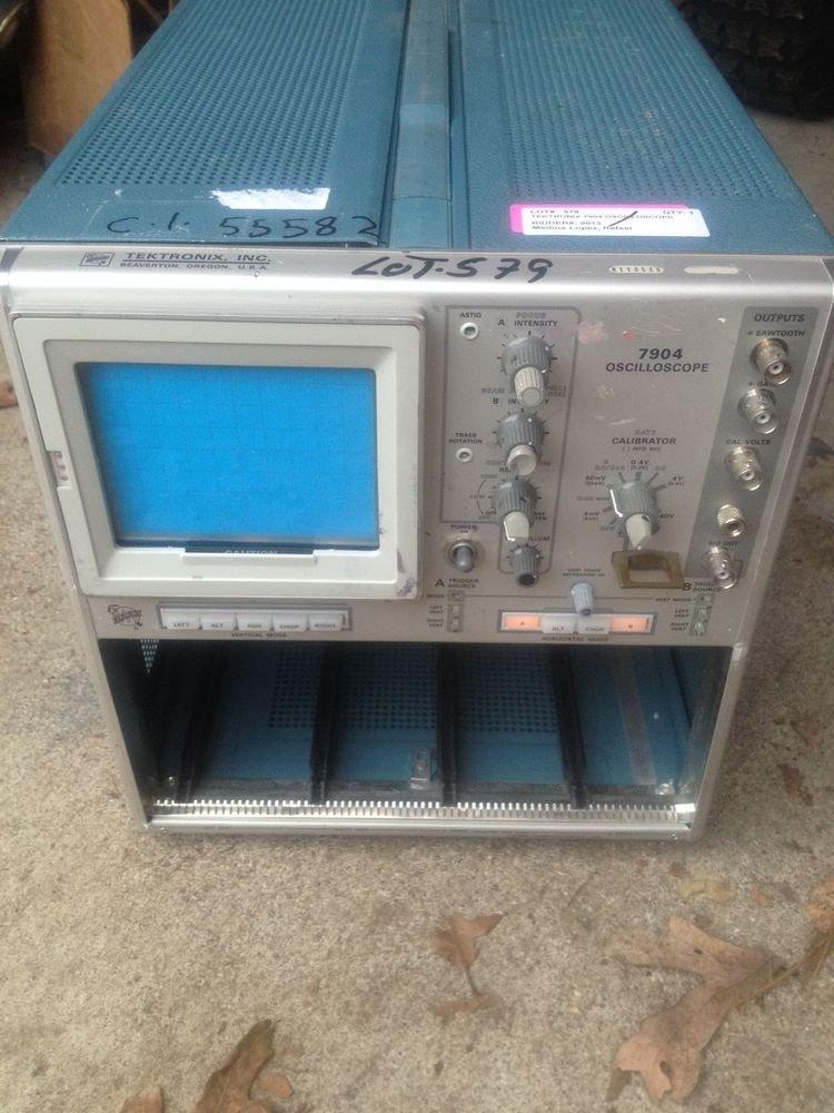 Tektronix 7904 500MHz 4-Slot High Bandwidth Mainframe Oscilloscope