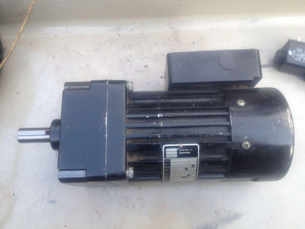 Bodine 34X6BFCI-W2 Gearmotor 1/9HP