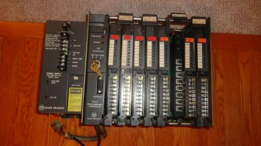 Allen-Bradley 1771 8 Slot Chassis wcards, PLC-2 MINI PROCESSOR and Power Supply
