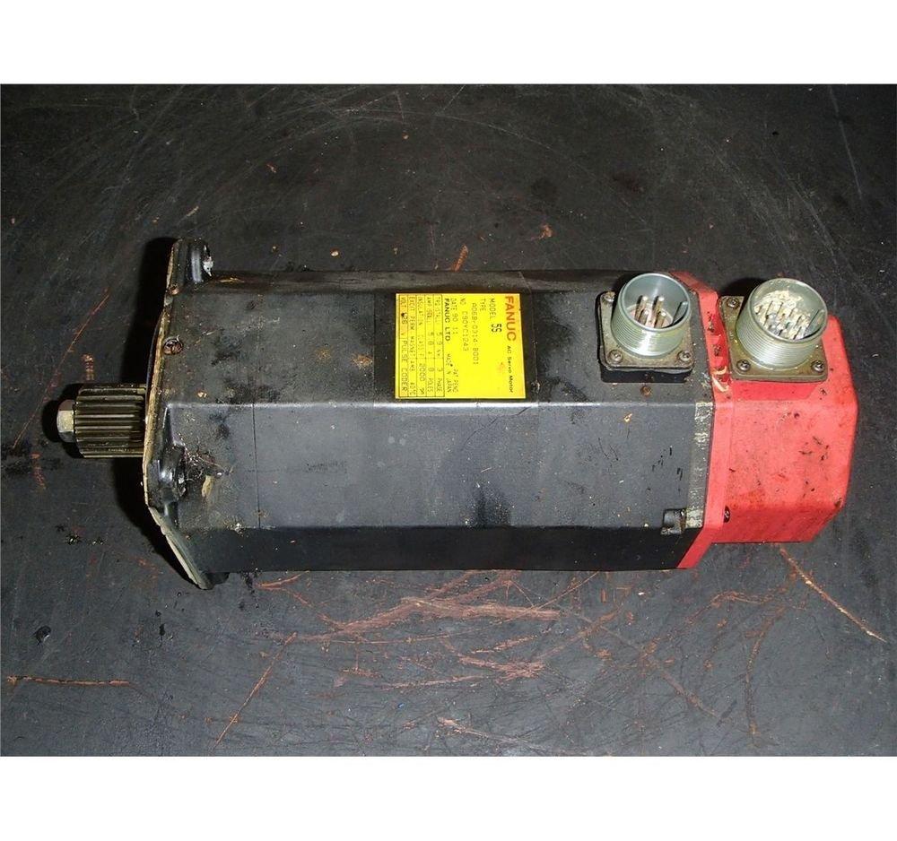 Fanuc Model 5S AC Servo Motor, A06B-0314-B001