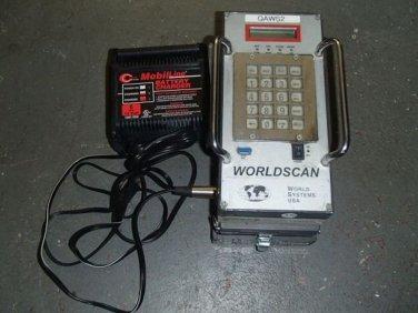 World Systems Worldscan V Coating Weight Analyzer QAWS2