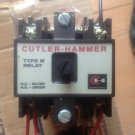 CUTTLER HAMMER TYPE M RELAY MODEL D26MB, D26MPR, D26MPL, D26MPS.