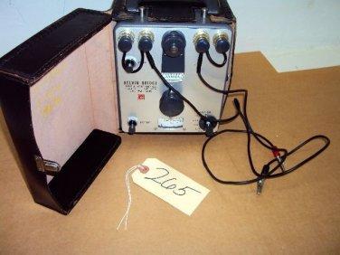 Leeds & Northrup Kelvin Bridge Cat. No. 4288 with Test Wires!*