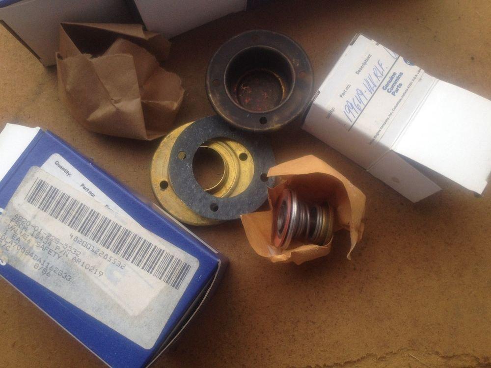 cummins Valve, Safety Relief AR10219