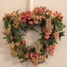 Sweet Heart Berry Wreath - Home Interiors HOMCO