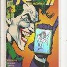 Robin II- #1B - Joker holding card; Robin Hologram NM