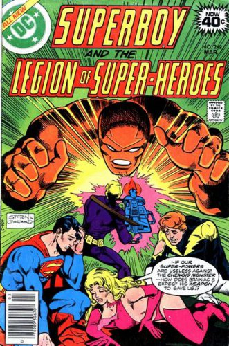 Superboy and the Legion of Super Heros #249  (FN to VF-)