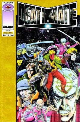 Deathmate #3 Yellow Cover  NM