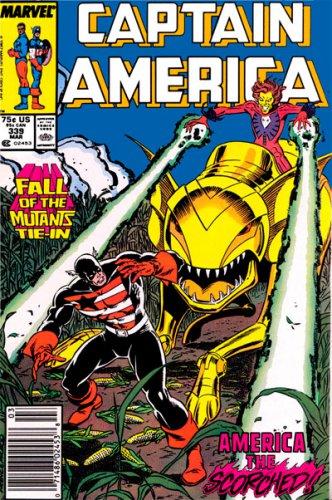 Captain America #339 (NM-)