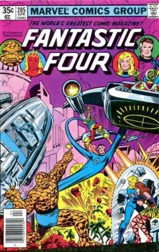 Fantastic Four #205  (VG+)