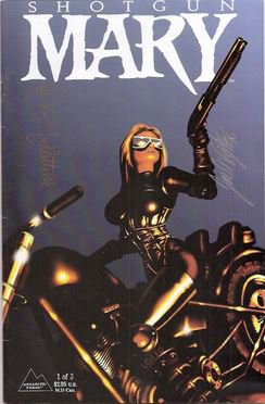 Shotgun Mary #1  (NM-)