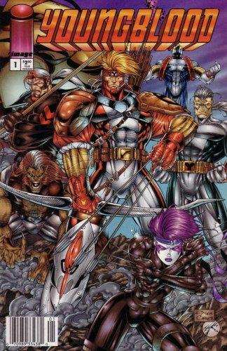 Youngblood #1  (NM-)