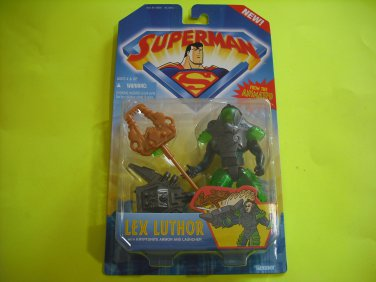 Superman Animated Series: Lex Luthor in Kryptonite Suit Action Figure