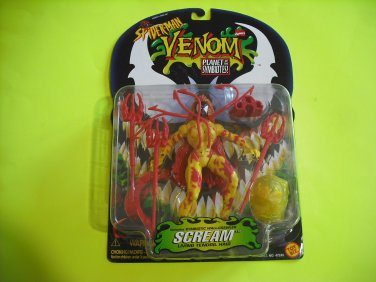 Spiderman Venom Planet of the Symbiotes : Scream Action Figure