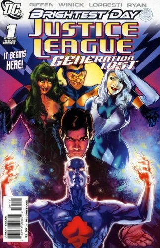 Justice League: Generation Lost #1  (NM-)