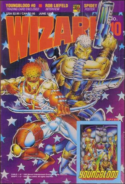 Wizard Magazine #10  VF+ to NM ( 5 copies)