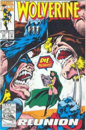 Wolverine #62  NM/NM-  (5 copies)