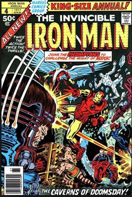 Iron Man #4: King Size Annual  (VF)