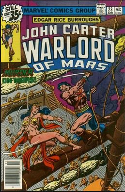John Carter: Warlord of Mars #23  (FN+ to VF-)