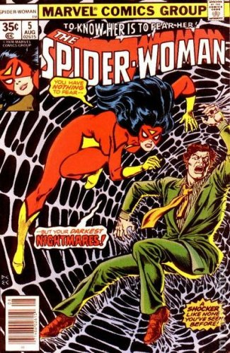 Spider-Woman #5  (FN to VF-)