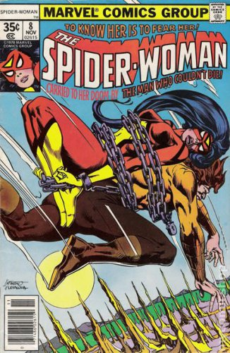 Spider-Woman #8  (FN to VF-)